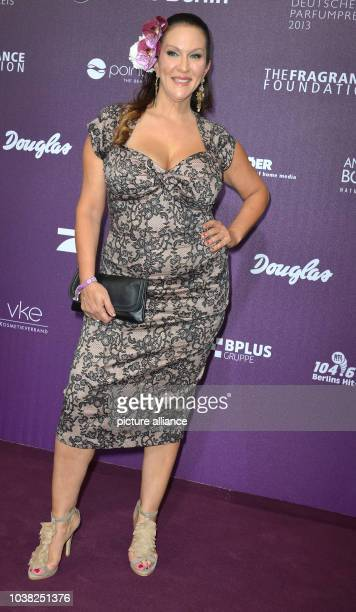 American actress Allegra Curtisarrives for the German perfume awards 'Duftstars' in BerlinGermany 17 May 2013 Duftstars is the most important...