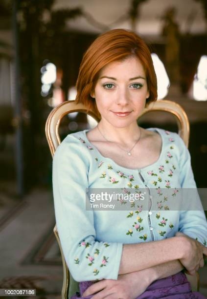 American actress Alyson Hannigan 2000s