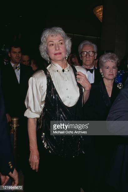 American actress and comedian Bea Arthur attends an event circa 1990