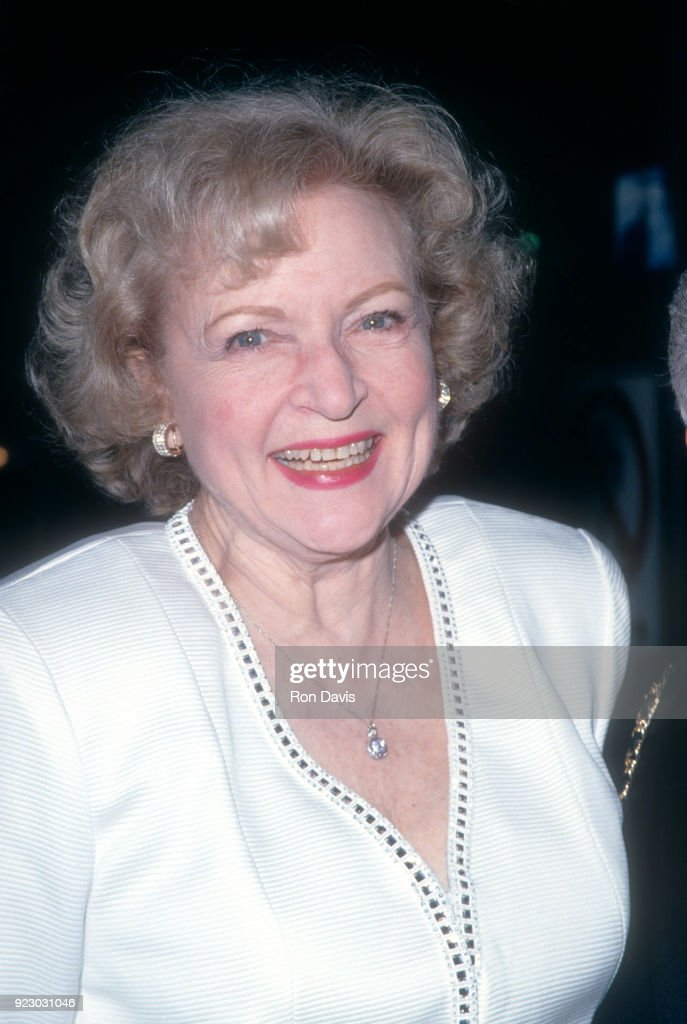 American actress and comedian Betty White attends an event circa 1994 in Los Angeles, California.