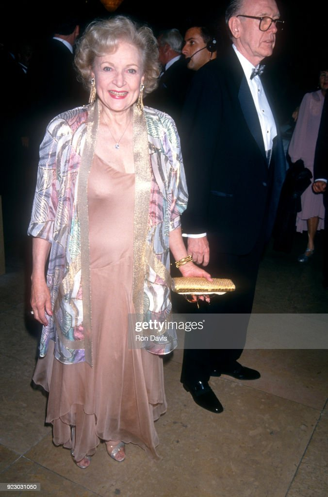 American actress and comedian Betty White attends the Second Annual Comedy Hall of Fame on August 28, 1994 at the Beverly Hilton Hotel in Beverly Hills, California.