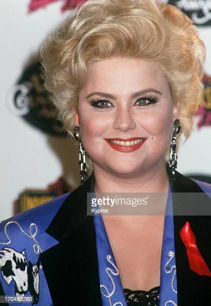 American actress and comedian Delta Burke circa 1990