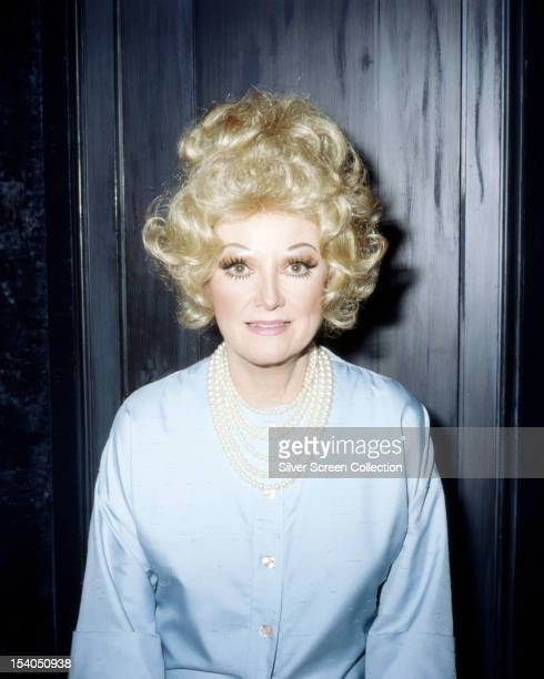 American actress and comedienne Phyllis Diller circa 1967