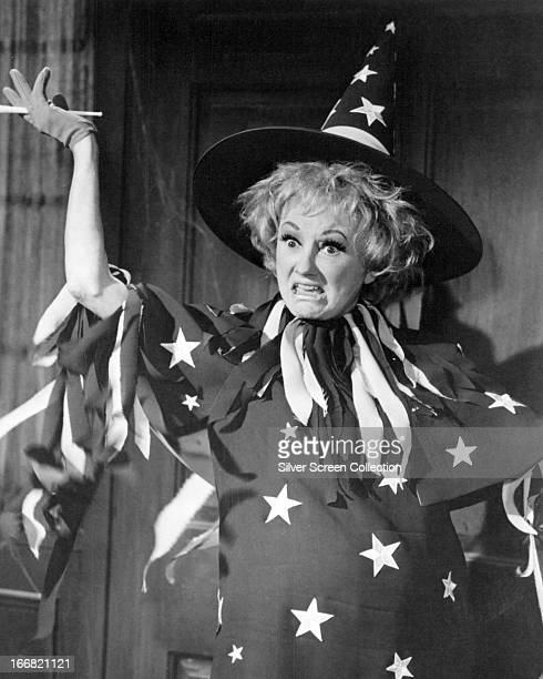 American actress and comedienne Phyllis Diller in a witch costume circa 1970 Photo by Silver Screen Collection/Getty Images