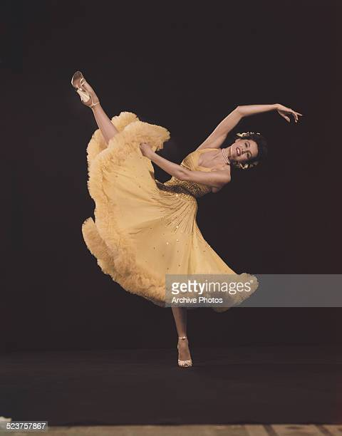American actress and dancer Cyd Charisse 21st November 1951