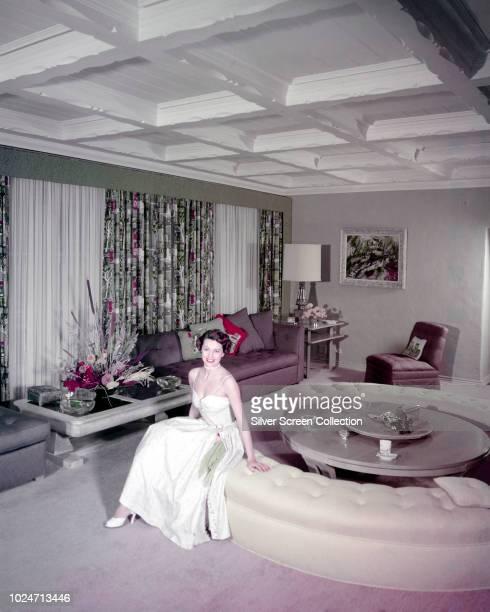 American actress and dancer Cyd Charisse circa 1950