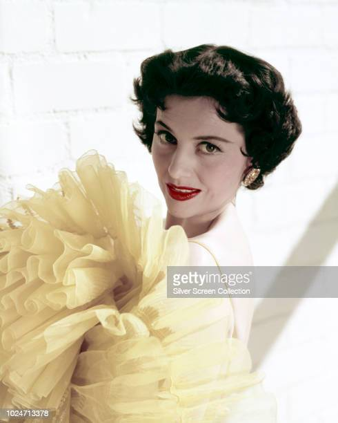 American actress and dancer Cyd Charisse circa 1955
