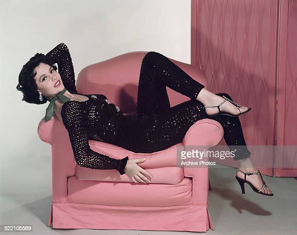 American actress and dancer Cyd Charisse in a promotional still for the film 'The Band Wagon' 1953