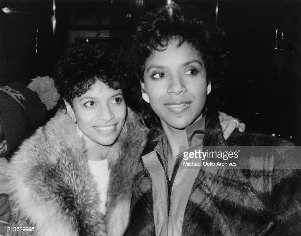 American actress and dancer Debbie Allen in New York City with her sister Phylicia Ayers-Allen , for the 'Night of 100 Stars II' television special,...