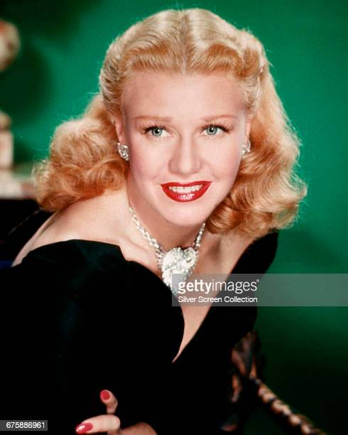 American actress and dancer Ginger Rogers as Marsha Mitchell in the film 'Storm Warning' 1951