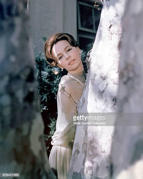 American actress and dancer Leslie Caron, circa 1960.