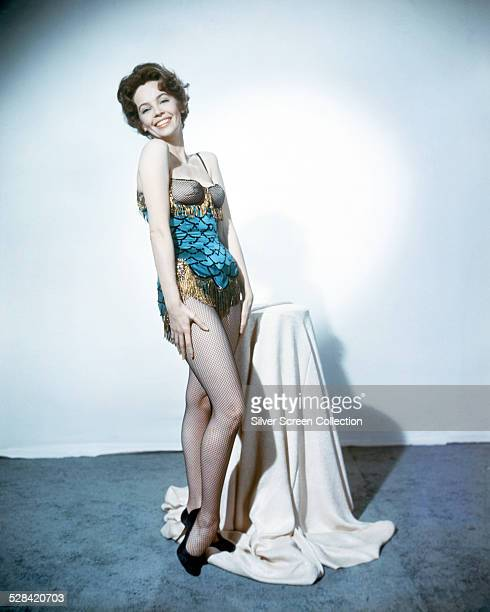 American actress and dancer Leslie Caron in a promotional portrait for 'The Man Who Understood Women', directed by Nunnally Johnson, 1959.