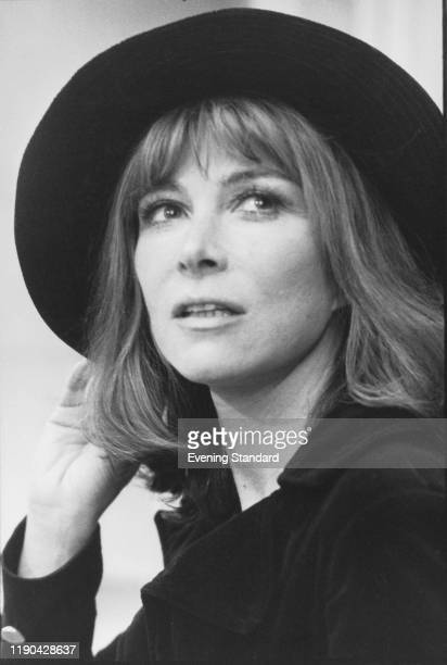 American actress and film director Lee Grant wearing hat, UK, 7th December 1973.