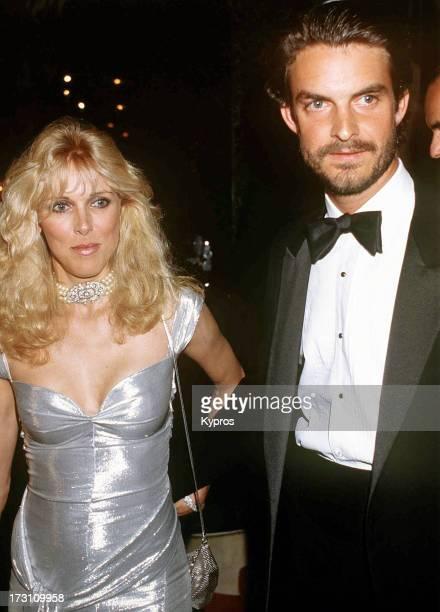 American actress and former model Alana Stewart formerly Alana Hamilton circa 1990