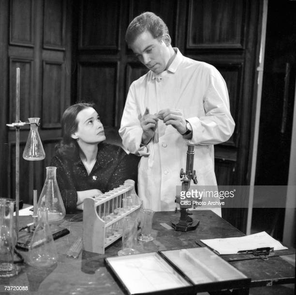 American actress and later blue jean pitchwoman Gloria Vanderbilt and Canadian actor writer and singer William Shatner appear in the episode 'No...