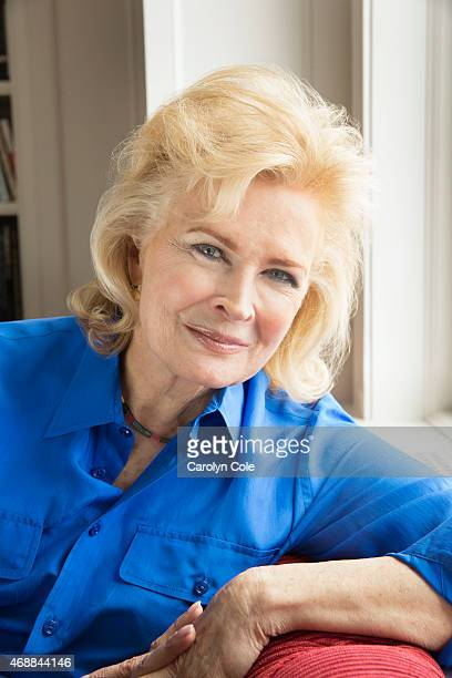 American actress and model Candice Bergen is photographed for Los Angeles Times on March 19 2015 in New York City PUBLISHED IMAGE CREDIT MUST BE...