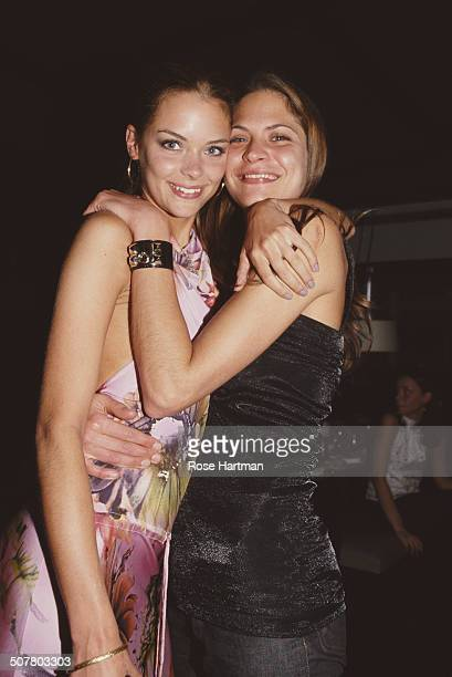 American actress and model James King celebrates her twenty first birthday with American model Frankie Rayder at the Mercer Kitchen restaurant New...