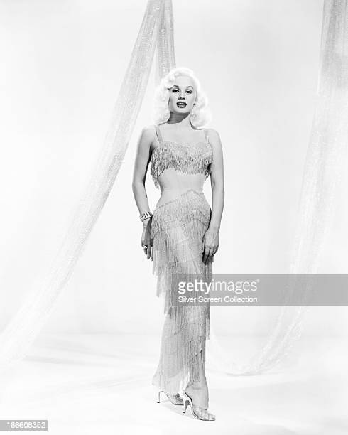American actress and model Mamie Van Doren circa 1958