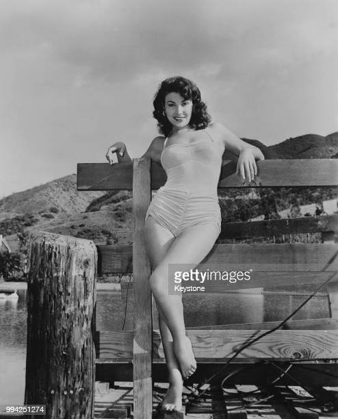 American actress and model Mara Corday circa 1955