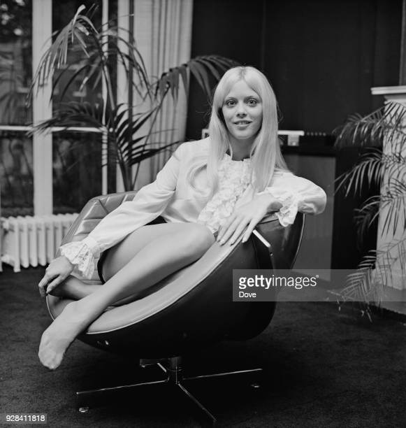 American actress and Playboy model Connie Kreski London UK 28th June 1968