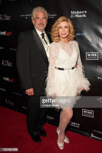 American actress and producer Donna Mills attends The 4th Annual CineFashion Film Awards at Saban Theatre on October 20 2018 in Beverly Hills...
