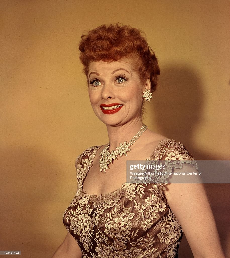 American Actress And Producer Lucille Ball 1911 1989 Best Known For Her