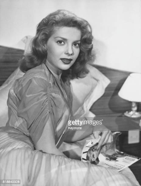 American actress and singer Abbe Lane circa 1955