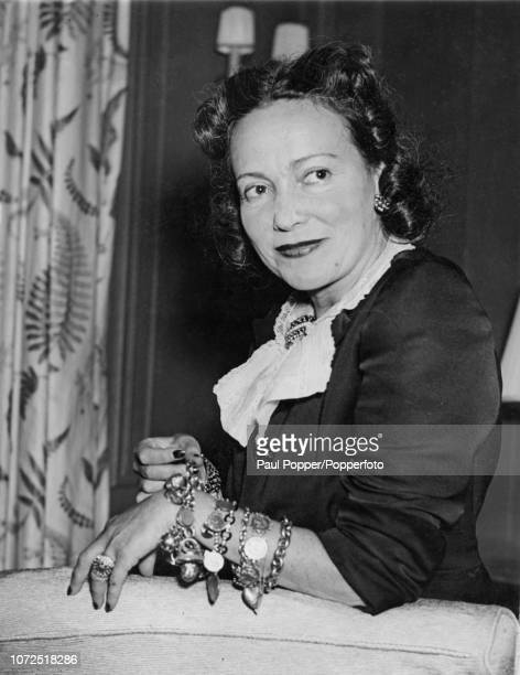 American actress and singer Adele Astaire Lady Cavendish pictured at the St Regis Hotel in New York on 20th September 1945