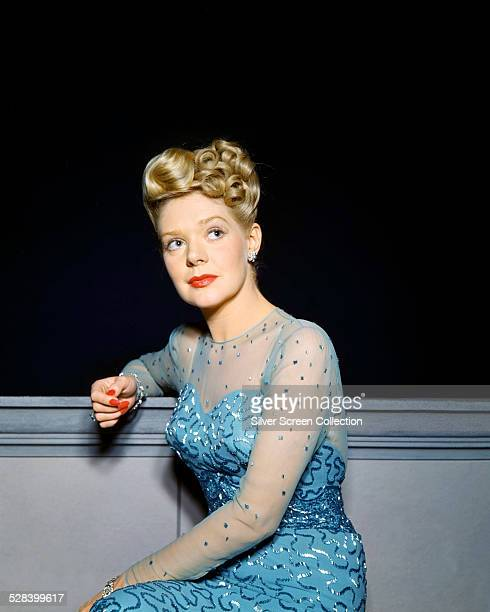 American actress and singer Alice Faye circa 1945