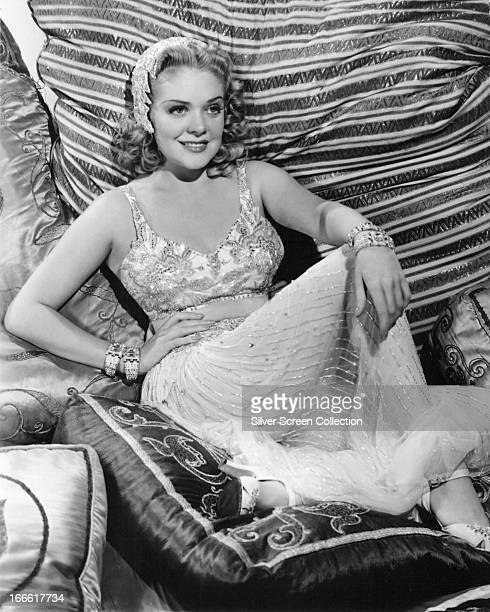 American actress and singer Alice Faye in a promotional portrait for 'Tin Pan Alley' directed by Walter Lang 1940