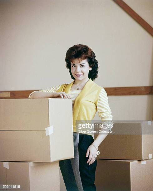 American actress and singer Annette Funicello circa 1964