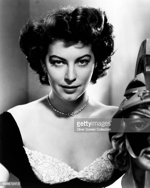 American actress and singer Ava Gardner circa 1955