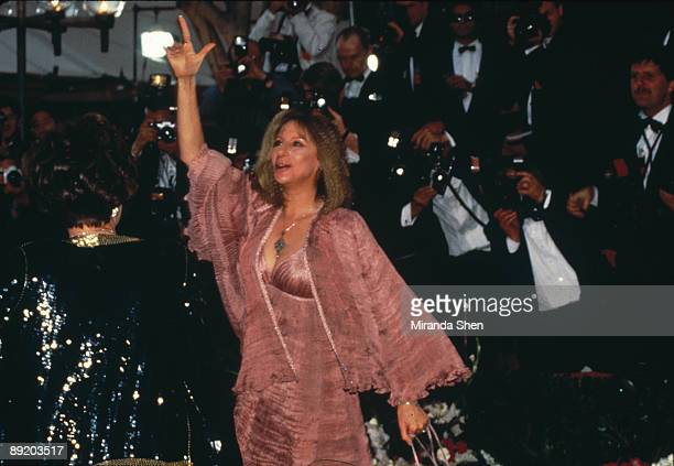 American actress and singer Barbra Streisand arrives at the 64th Annual Academy Awards held at the Dorothy Chandler Pavilion Los Angeles 30th March...