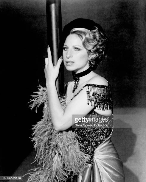 American actress and singer Barbra Streisand as Fanny Brice in the film 'Funny Lady' 1975