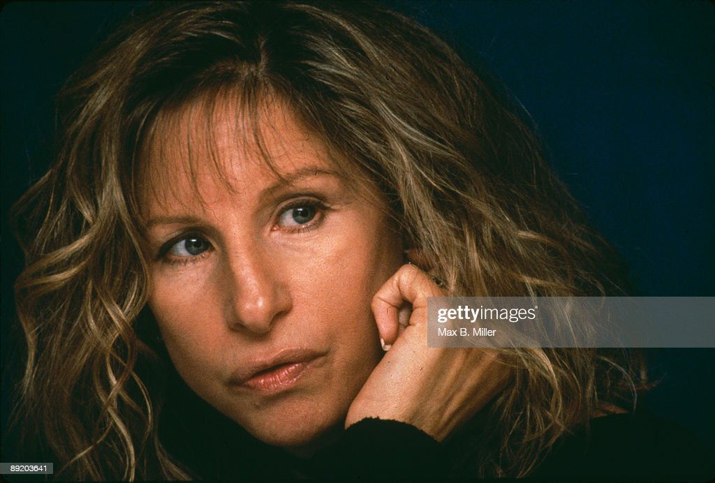American actress and singer Barbra Streisand, circa 1985.