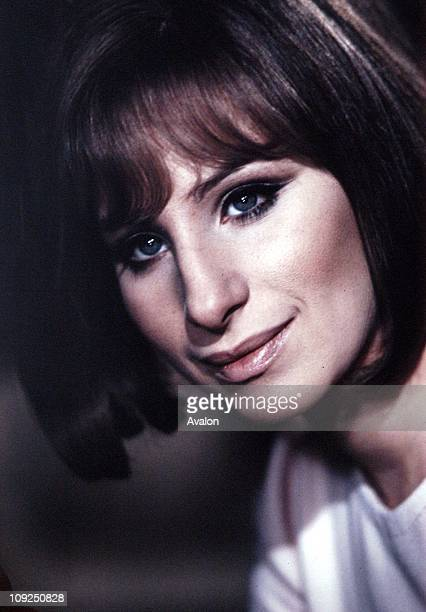 American Actress and Singer Barbra Streisand