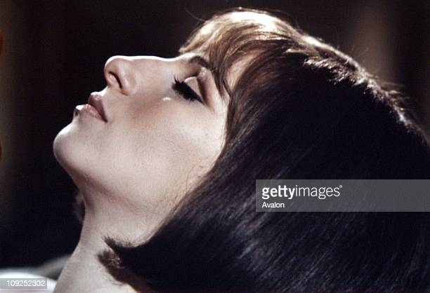 American Actress and Singer Barbra Streisand.