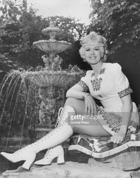 American actress and singer Connie Stevens in London 13th July 1971