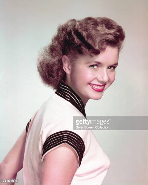 American actress and singer Debbie Reynolds circa 1952