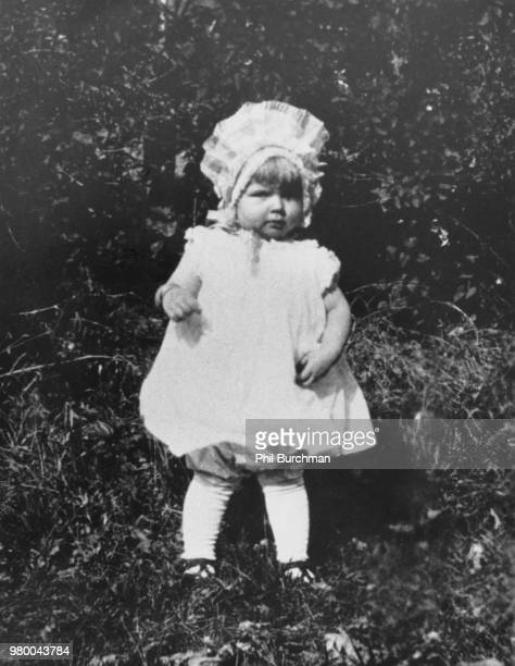 American actress and singer Doris Day as a toddler circa 1923