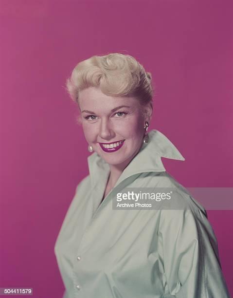 American actress and singer Doris Day, circa 1960.