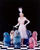 American actress and singer doris day poses with an array of poodles picture id98426009?s=170x170