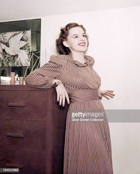 American actress and singer Judy Garland circa 1940