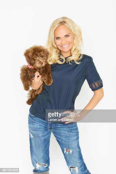 American actress and singer Kristin Chenoweth is photographed for Guideposts Magazine on February 25 2017 in Los Angeles California