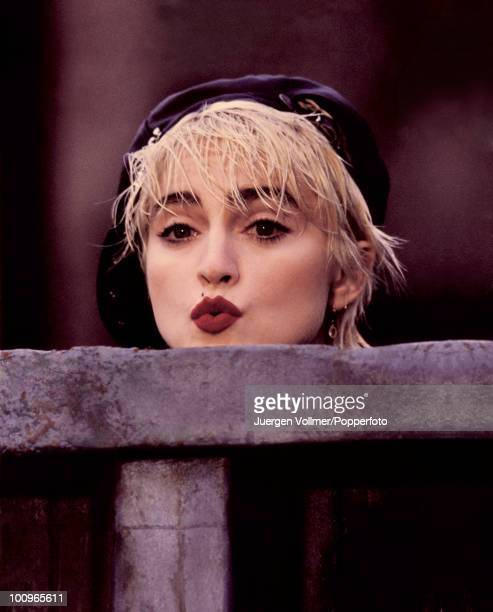 American actress and singer Madonna stars in the film 'Who's That Girl' 1987