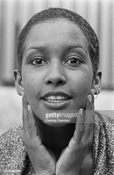 American actress and singer Marsha Hunt, UK, 7th September 1972.