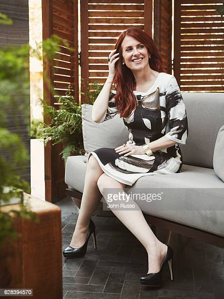 American actress and singer Megan Mullally is photographed for Modern Luxury Media on August 3 2016 in Los Angeles California PUBLISHED IMAGE