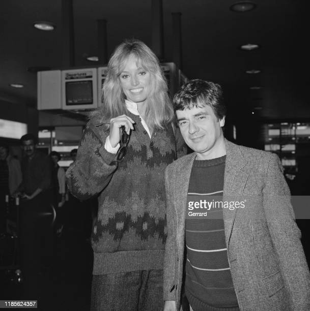 American actress and singer Susan Anton and English actor comedian musician and composer Dudley Moore UK 17th October 1984