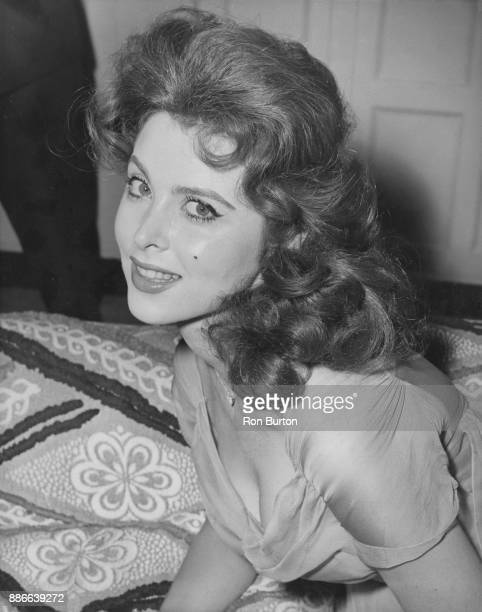 American actress and singer Tina Louise during a press conference at the Savoy Hotel in London shortly before the premiere of her latest film 'God's...