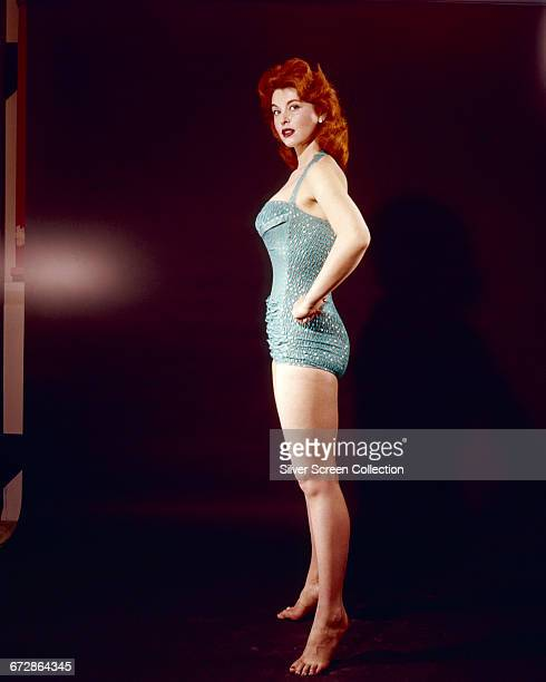 American actress and singer Tina Louise in a swimsuit circa 1965